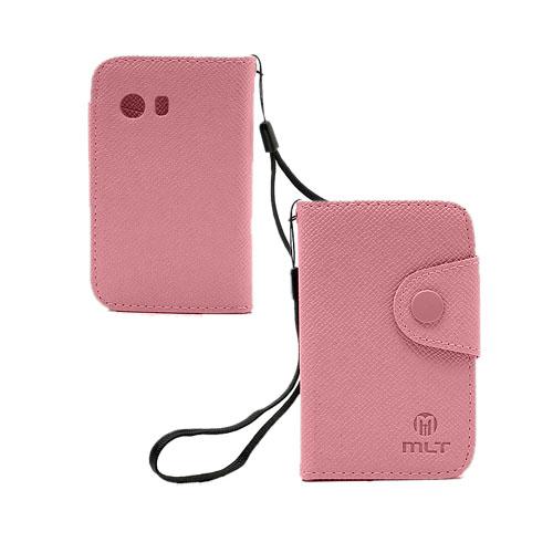 MLT (Pink) Samsung Galaxy Y Læder etui