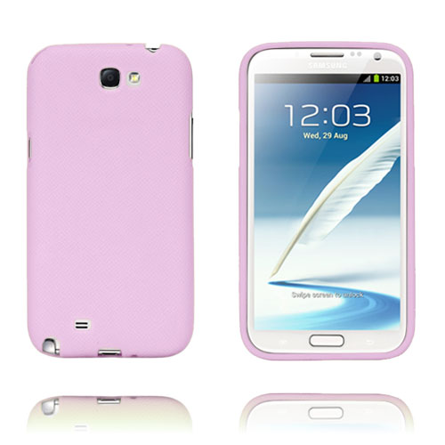 Grid (Pink) Samsung Galaxy Note 2 Cover