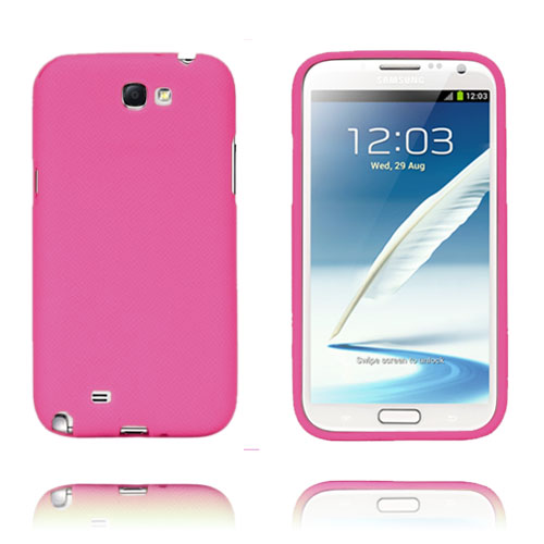 Grid (Hot Pink) Samsung Galaxy Note 2 Cover