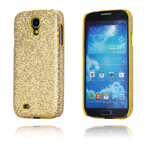 Glitter (Guld) Samsung Galaxy S4 Cover