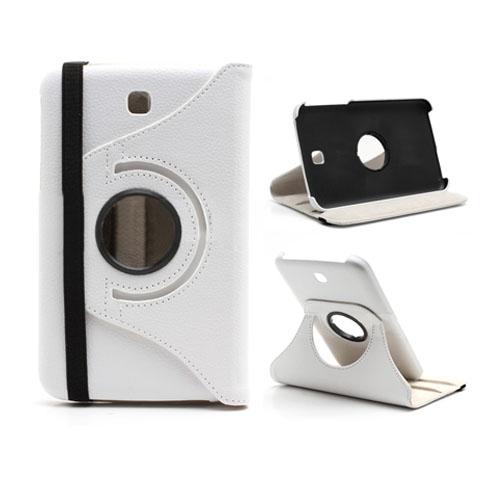 79ff96b3e9b5 Smart Stand (Hvid) Samsung Galaxy Tab 3 7.0 Læder Flip Cover