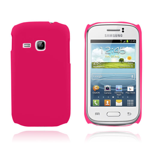 Hard Case (Hot Pink) Samsung Galaxy Young Cover