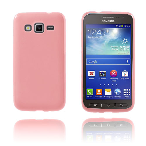 GelCase (Pink) Samsung Galaxy Core Advance Cover