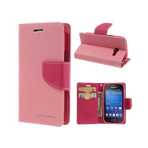 Freestyle (Pink) Samsung Galaxy Trend Lite Læder flip etui