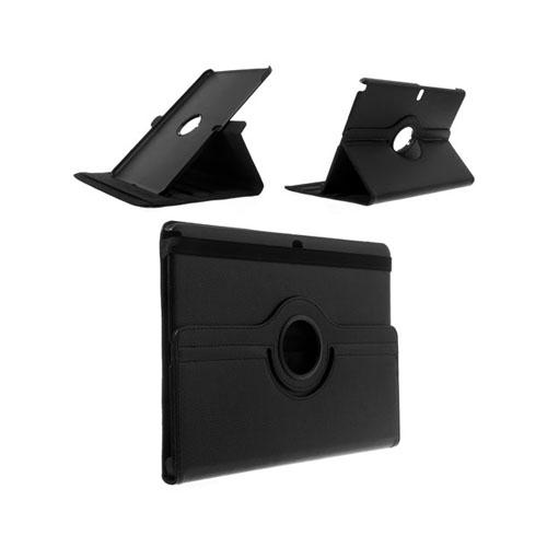 Image of   3sixty (Sort) Samsung Galaxy NotePro/TabPro 12.2 Læder Flip Etui