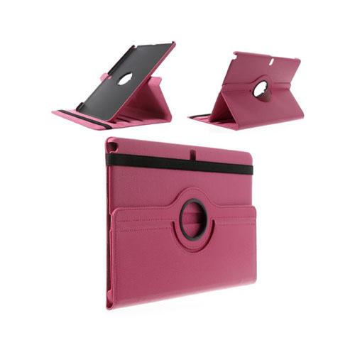 Image of   3sixty (Hot Pink) Samsung Galaxy NotePro/TabPro 12.2 Læder Flip Etui