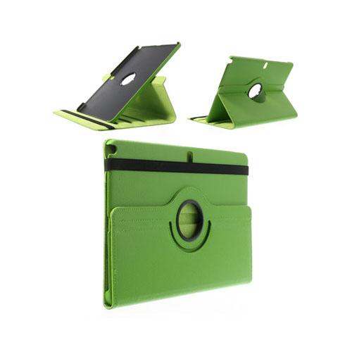 Image of   3sixty (Grøn) Samsung Galaxy NotePro/TabPro 12.2 Læder Flip Etui