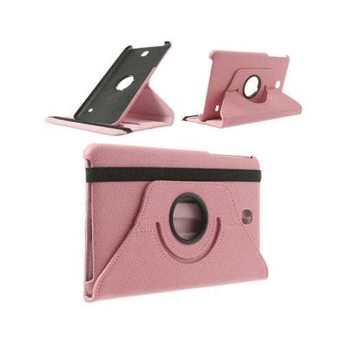 Image of   3-Sixty (Pink) Samsung Galaxy Tab 4 8.0 Læder Flip Etui