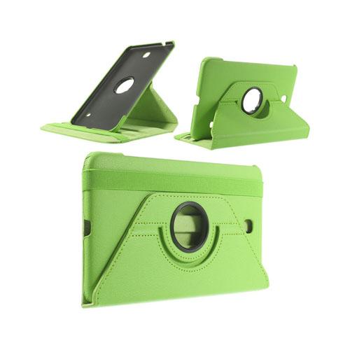 Image of   3-Sixty (Grøn) Samsung Galaxy Tab 4 8.0 Læder Flip Etui