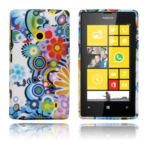 Image of   Symfoni (Flower Power) Nokia Lumia 520 Cover