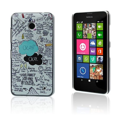 Persson Nokia Lumia 630/635 Cover - Citat The Fault In Our Stars