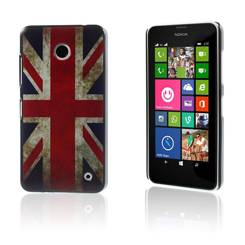 Persson Nokia Lumia 630/635 Cover - Retro Union Jack Flag
