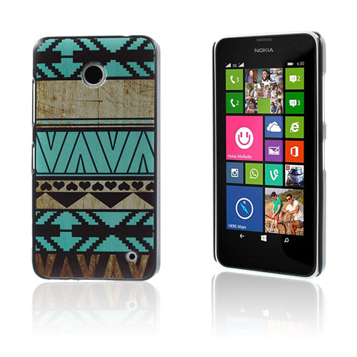Persson Nokia Lumia 630/635 Cover - Geometrisk Mønster