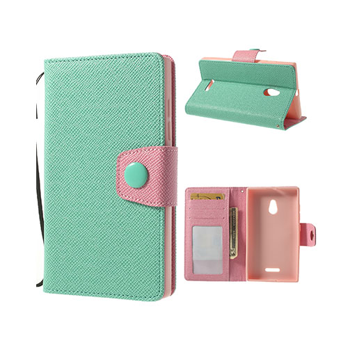 Image of   Brooklyn (Cyan) Nokia XL Flip Etui