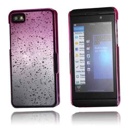 Raindrops (Hot Pink) Blackberry Z10 Cover