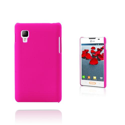 Hard Shell (Hot Pink) LG Optimus L4 II Cover