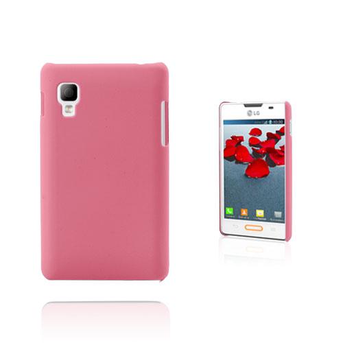Hard Shell (Pink) LG Optimus L4 II Cover