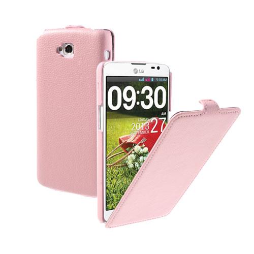 Wall Street (Pink) LG G Pro Lite Læderetui