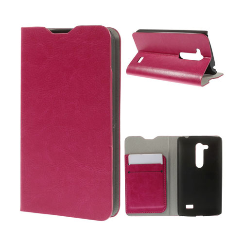 Image of   Amdrup LG L Fino Læder Flip Etui - Hot Pink