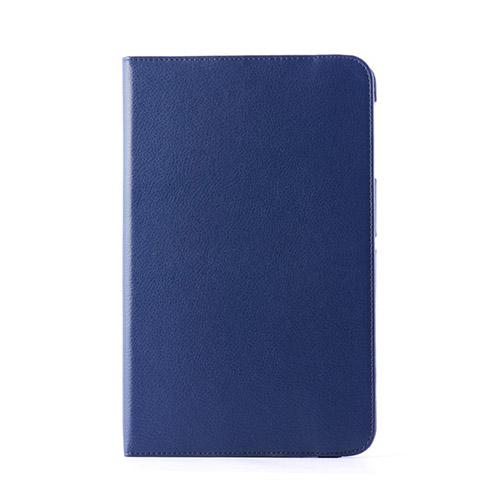Jessen LG G Pad 10.1 Læder Etui Roterbar Stand - Mørkeblå