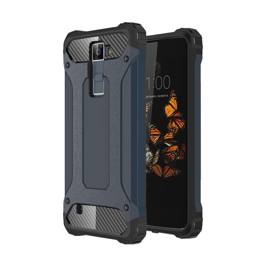 Jernside LG K8 Hybridcover - Mørkeblå