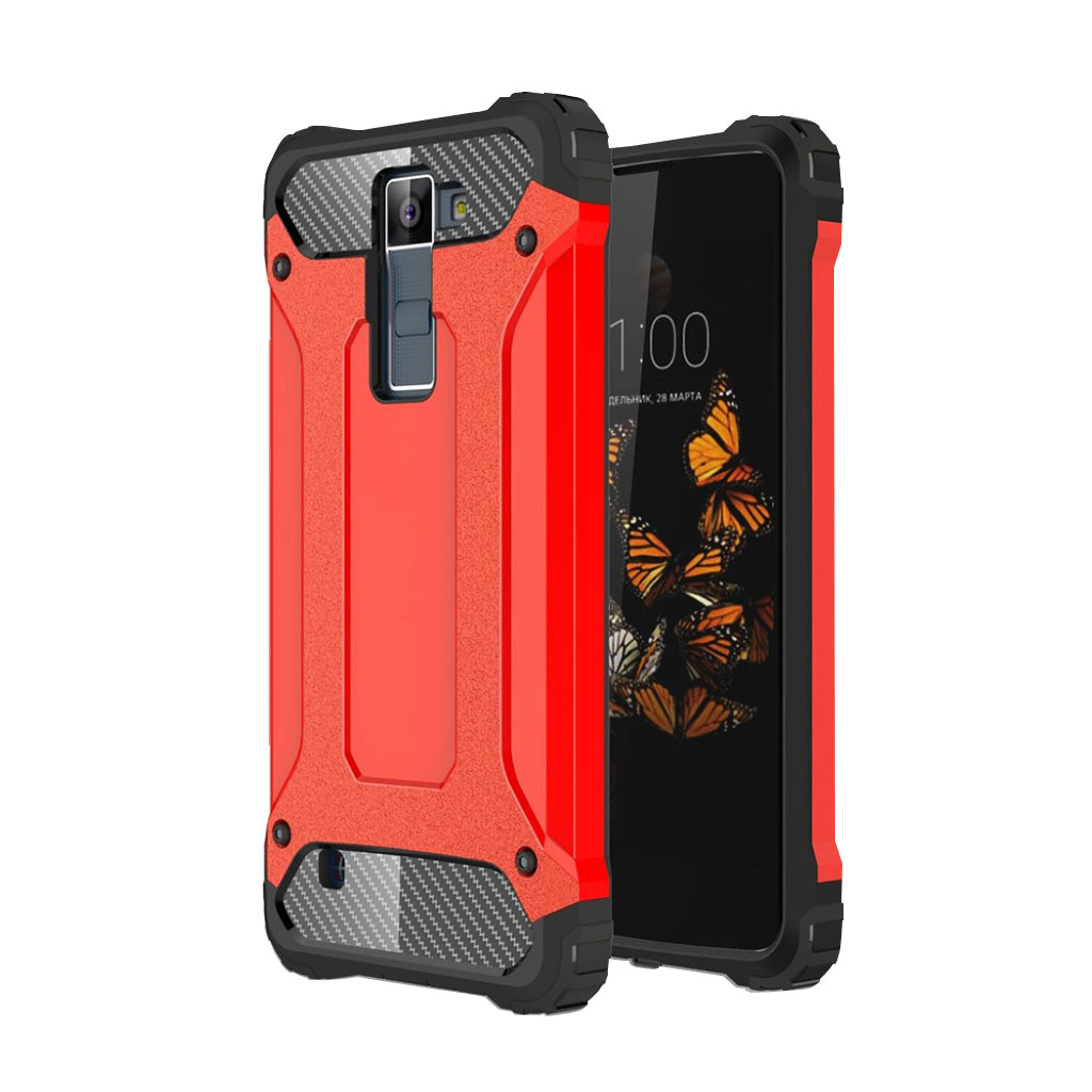 Jernside LG K8 Hybridcover - Rød
