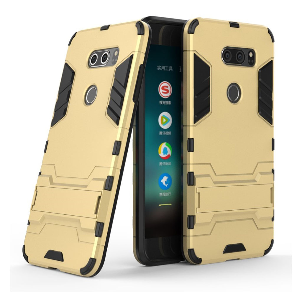 LG V30 cool guard case - Gold