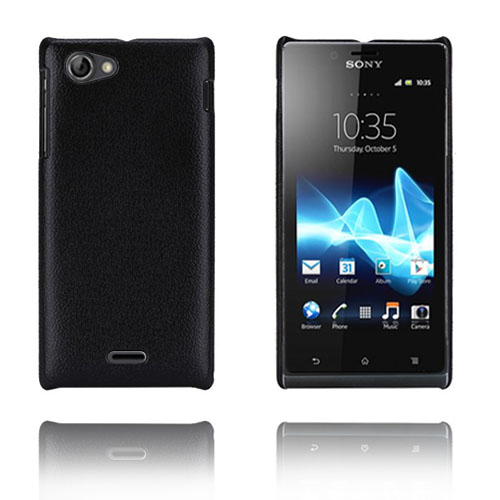Image of   Alpha (Sort) Sony Xperia J Cover