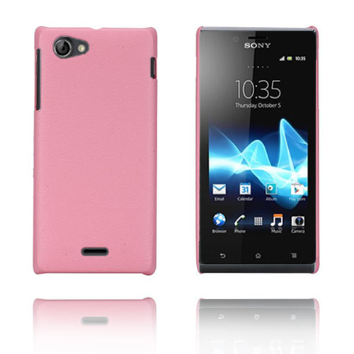 Image of   Alpha (Pink) Sony Xperia J Cover