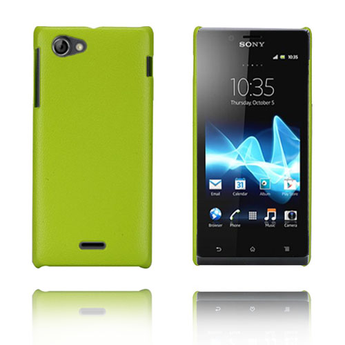 Image of   Alpha (Grøn) Sony Xperia J Cover