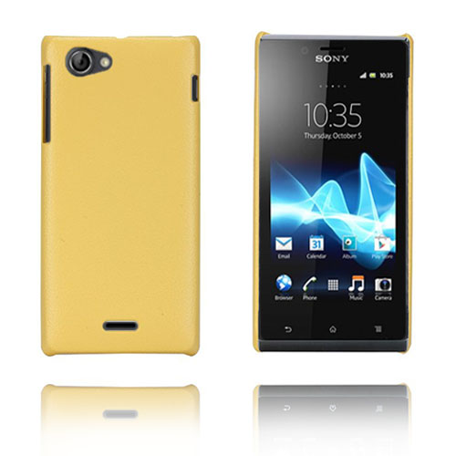 Image of   Alpha (Gul) Sony Xperia J Cover