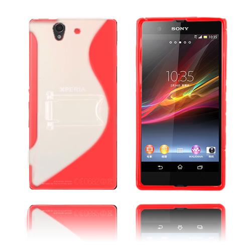S-Line Holder (Rød) Sony Xperia Z Cover