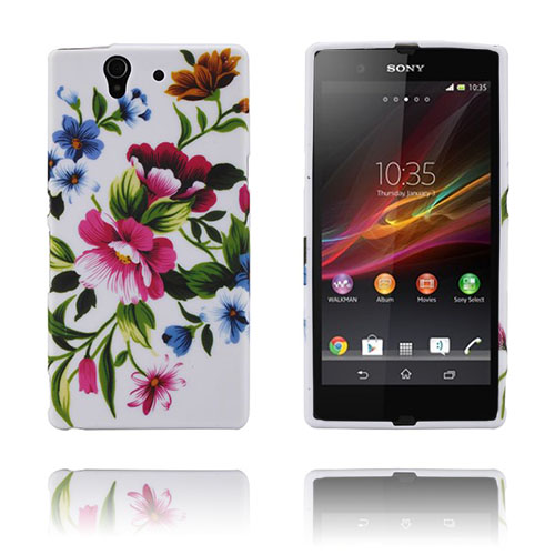 Symphony (Pink Blomster) Sony Xperia Z Cover