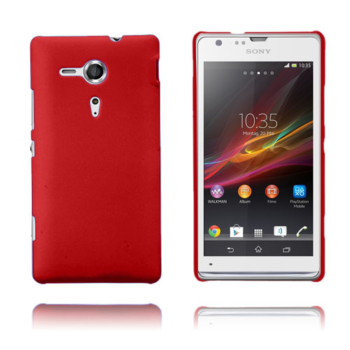 Hard Cover (Rød) Sony Xperia SP Cover