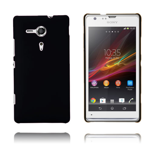 Hard Cover (Sort) Sony Xperia SP Cover