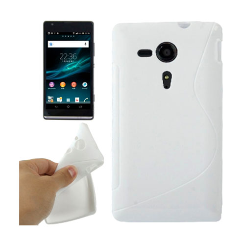 S-Line (Hvid) Sony Xperia SP Cover