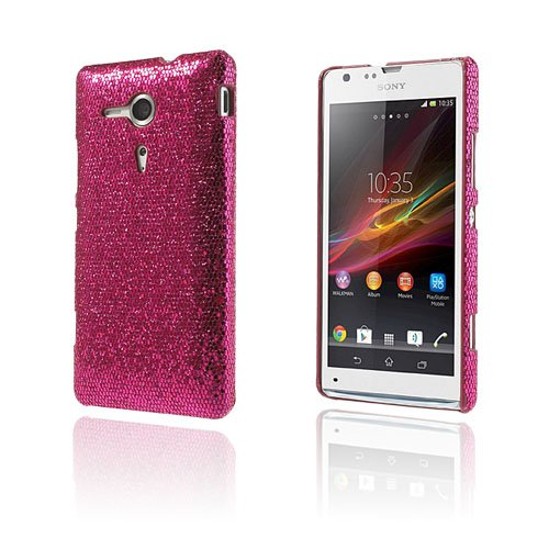 Glitter (Pink) Sony Xperia SP Cover