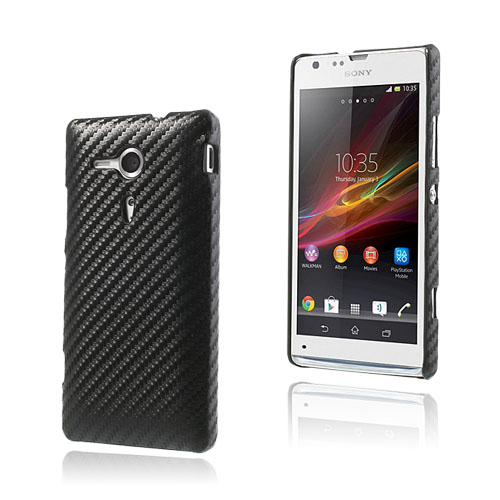 Carbon (Sort) Sony Xperia SP Cover