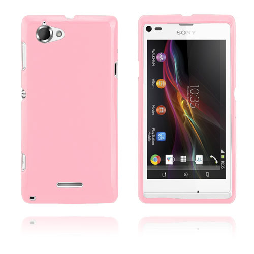 GelCase (Pink) Sony Xperia L Cover