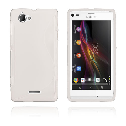 S-Line (Gennemsigtigt) Sony Xperia L Cover