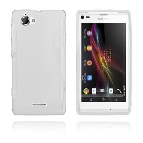 S-Line (Hvid) Sony Xperia L Cover