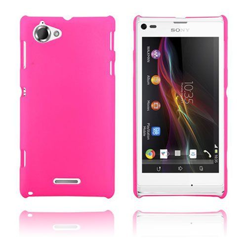 Hard Cover (Hot Pink) Sony Xperia L Cover