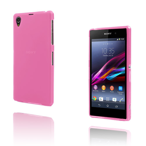 Semitransparent (Pink) Sony Xperia Z1 Cover