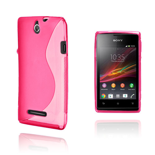 S-Line (Pink) Sony Xperia E Cover