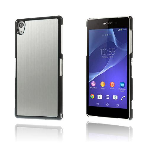 Image of   Alu Plate (Sølv) Sony Xperia Z2 Cover