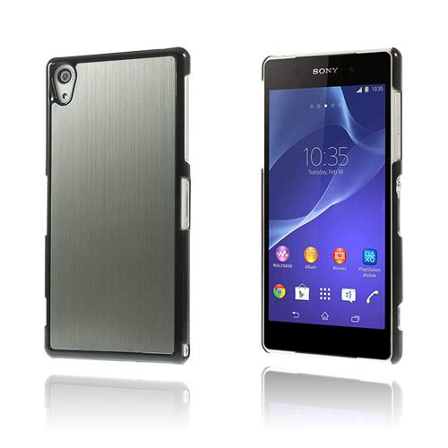Image of   Alu Plate (Grå) Sony Xperia Z2 Cover