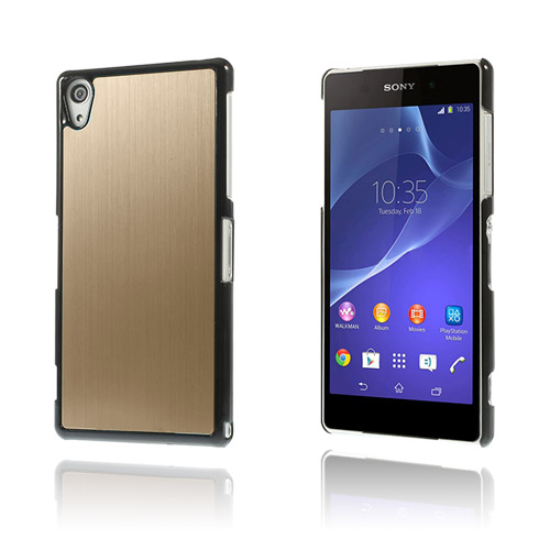 Image of   Alu Plate (Champagne) Sony Xperia Z2 Cover