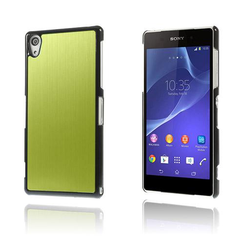 Image of   Alu Plate (Grøn) Sony Xperia Z2 Cover