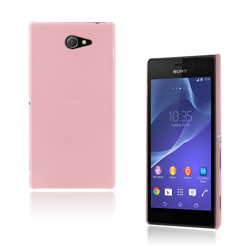 Hard Shell (Pink) Sony Xperia M2 Cover
