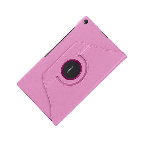 Image of   3-Sixty (Pink) Sony Xperia Z2 Tablet Læder Flip Etui